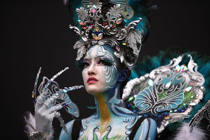 Фото №1 - В Южной Корее прошёл фестиваль боди-арта (галерея)