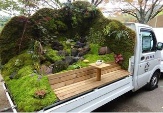 В Японии опять прошел конкурс «Сад в кузове машины». И это невероятно!