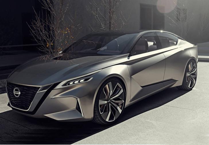 Фото №1 - Они не пошутили. Так в ближайшие годы будут выглядеть новые модели Nissan