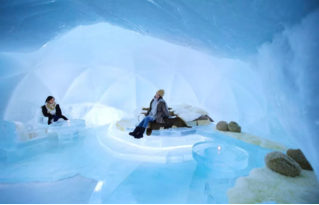 Японский ледяной отель (галерея)