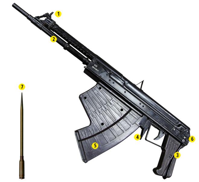 Фото №3 - Лучшие образцы огнестрельного оружия для стрельбы под водой
