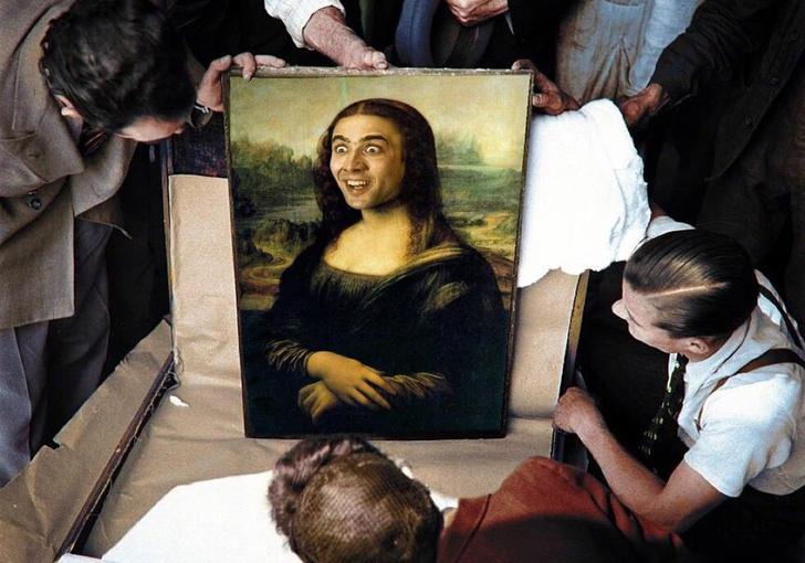 Фото №1 - Фотожаба дня: кадр с распаковкой «Моны Лизы» разошелся на мемы