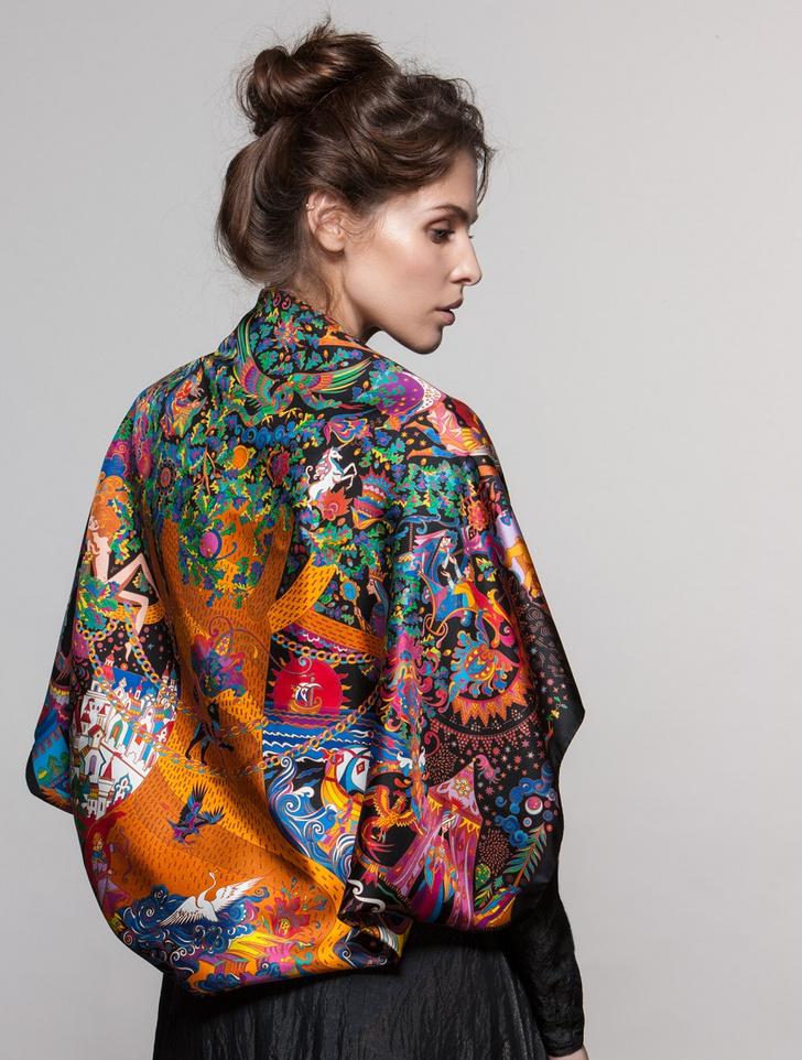 Фото №3 - Непошлый сувенир: платки Sirinbird против ушанок