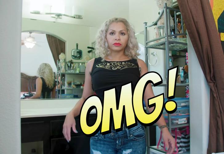 Фото №1 - Найдена женщина с самой тонкой талией в мире! Зрелище не для слабонервных