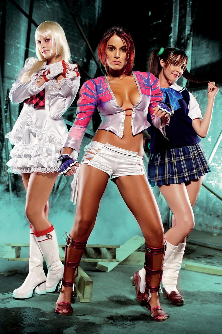 Фото №1 - Девушки из игры Tekken — добро должно быть с кулачками