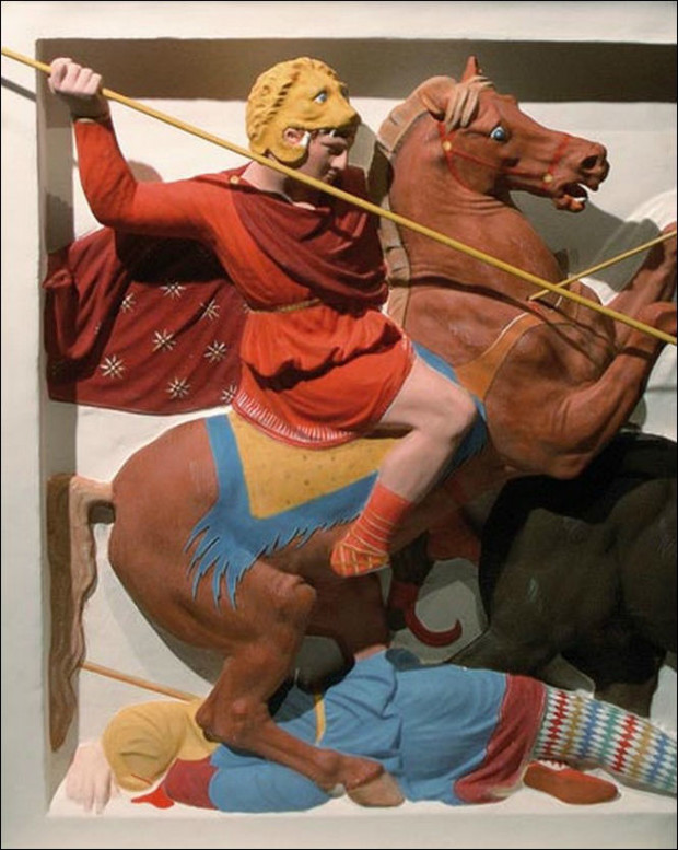 Фото №5 - Полюбуйся, как на самом деле выглядели античные статуи!