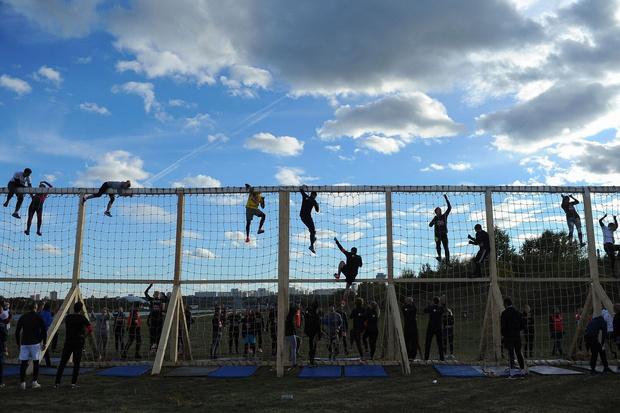 Фото №1 - Команда MAXIM приняла участие в фитнес-фестивале «Стань человеком»