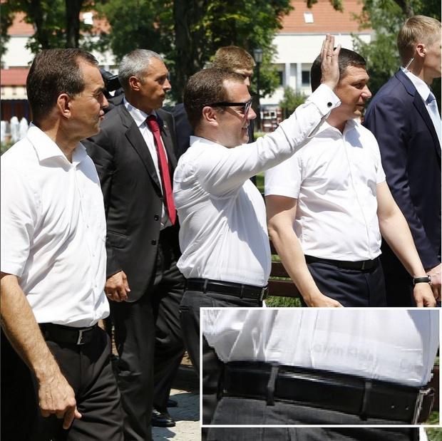 Фото №6 - Трусы Медведева: лучшие шутки и фотожабы