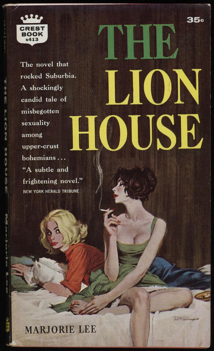 Фото №13 - Обложки старых эротических книг про лесбиянок!