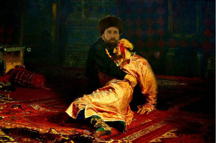 Фото №9 - Лучшие фотожабы на Николаса Кейджа в Казахстане