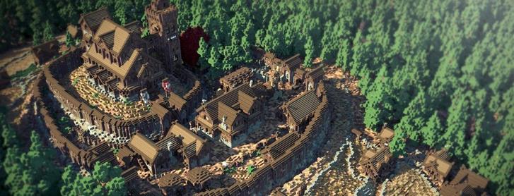 Фото №3 - Майнкрафт престолов: Вестерос воссоздали в виртуальном мире