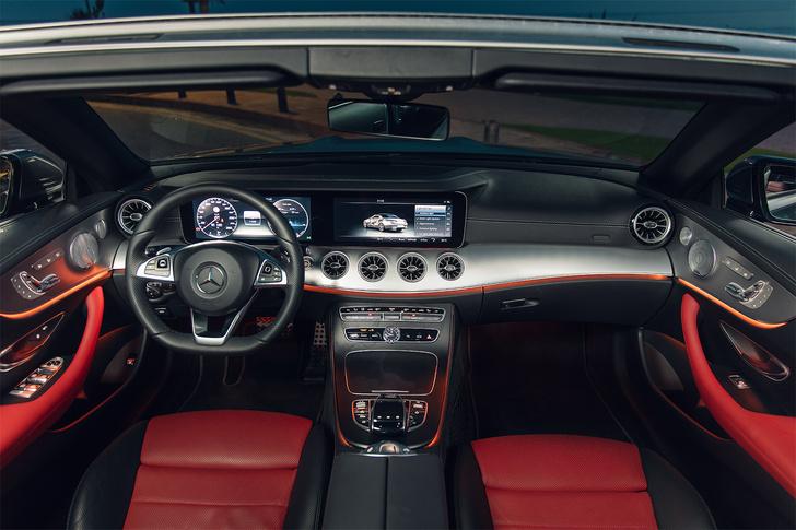 Фото №6 - Кабриолет Mercedes Е-Класса может вызвать неконтролируемые приступы счастья…