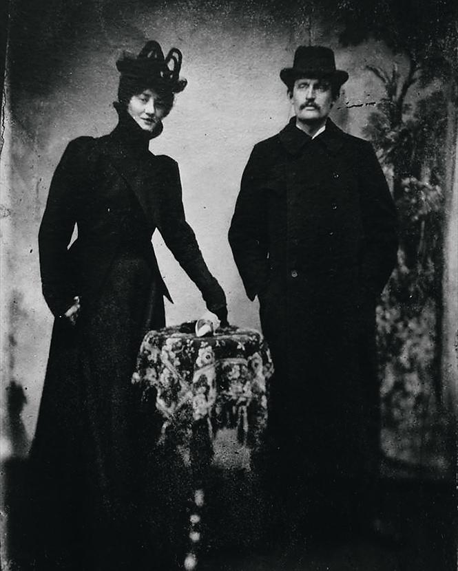 Эдвард и его возлюбленная Тулла Ларсен