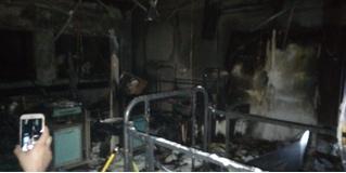 Женщина устала ждать приема врача, поэтому сожгла больницу