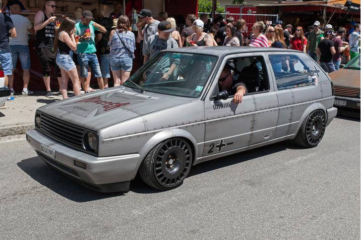 Фото №9 - Самые безумные машины фестиваля GTI Treffen