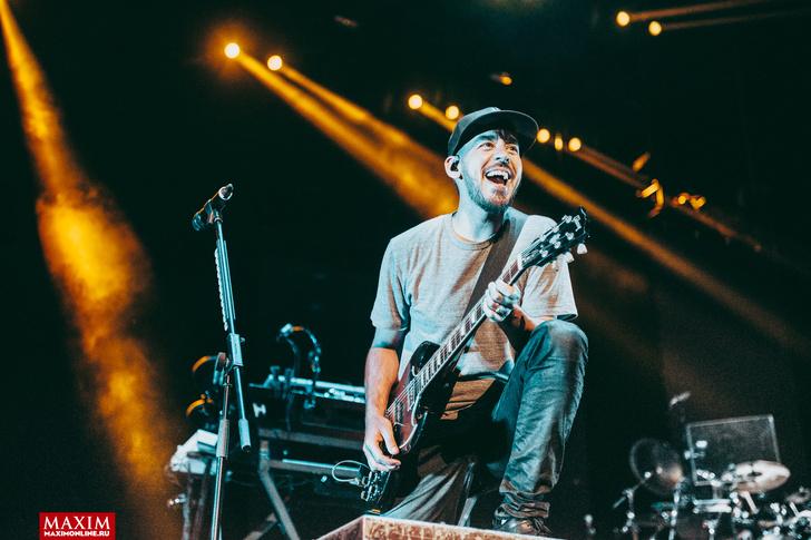 Фото №6 - Вопли рока. Что творилось на концерте Linkin Park