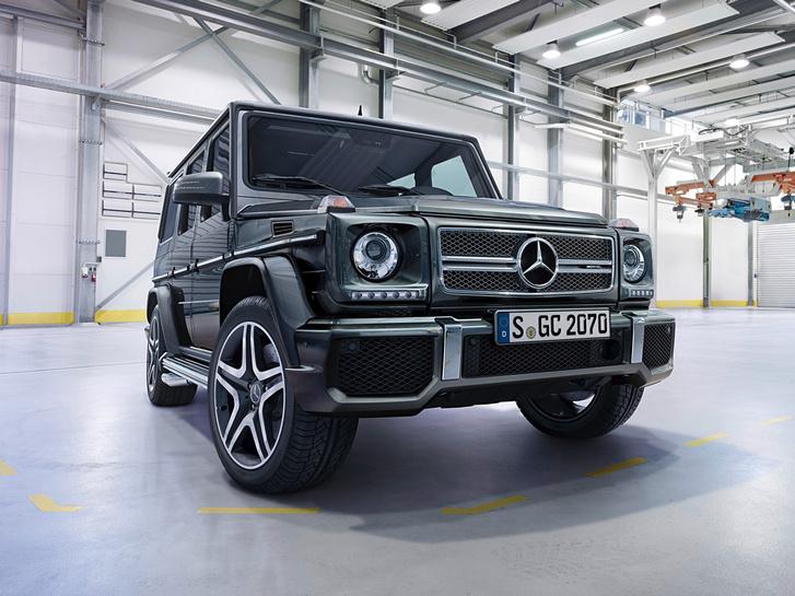 Фото №3 - Новый Mercedes G-Class: подробности из первых рук!