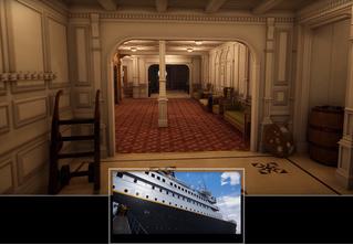 Прогулка по лайнеру «Титаник» на движке Unreal (видео)