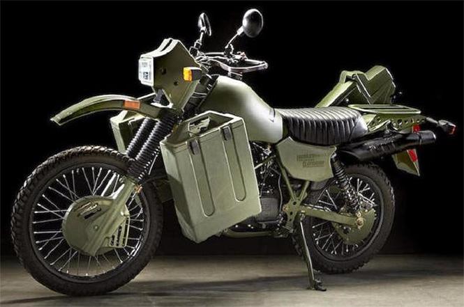 Фото №3 - «Харлей» по военным лекалам: зеленый, железный и агрессивный