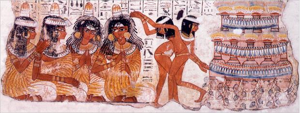 Фреска «Танцовщицы на пиру»