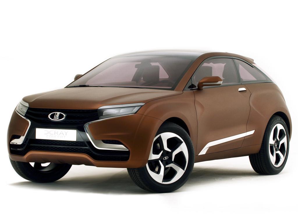 Концепт-кар Lada XRAY (2012), фото 1