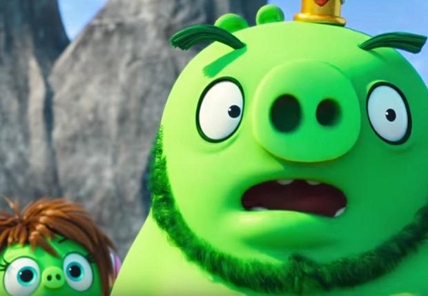 Фото №1 - Первый — обледеневший — трейлер «Angry Birds в кино 2»