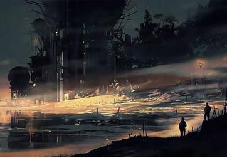Художник недели: агонизирующие планеты Амира Занда