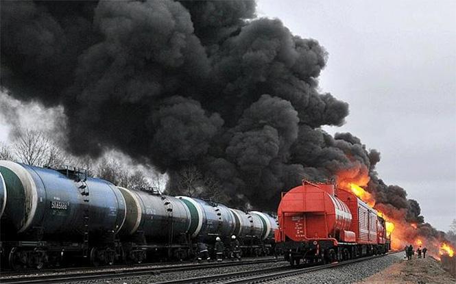 Фото №18 - Самые впечатляющие фото железнодорожных катастроф