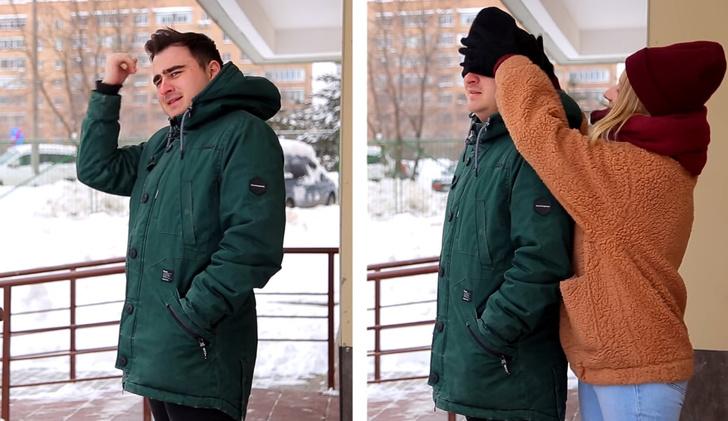 Фото №1 - Зима с девушкой и зима без девушки: честное видео