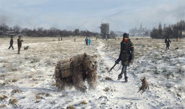 Фото №27 - Зловещая стимпанковская живопись с элементами славянского быта