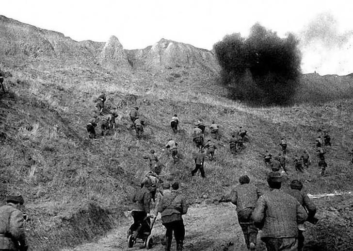 Фото №3 - Синявинские высоты: как саперная лопатка стала любимым оружием советской пехоты