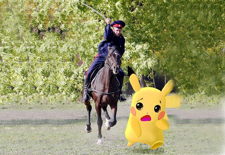 Фото №1 - Покемоны, гоу хом! Как казачьи патрули по столице покемонов гоняют