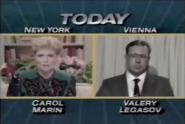 Фото №1 - Интервью Валерия Легасова об аварии в Чернобыле телекомпании NBC в 1986 году