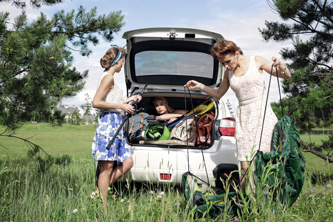 Фото №1 - Всё смешалось в Subaru XV!