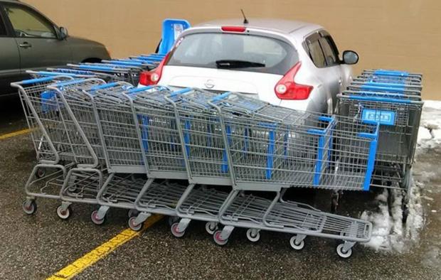Фото №1 - 16 случаев мести за плохую парковку