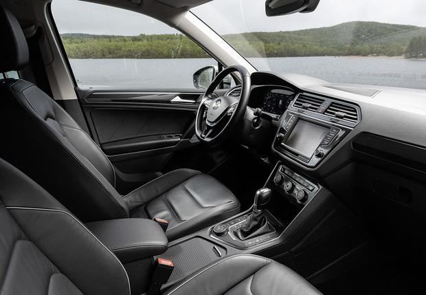 Фото №4 - И целого асфальта мало: наш тест-драйв Volkswagen Tiguan в условиях Русского Севера