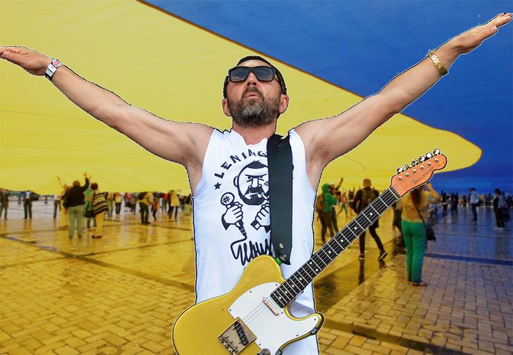 Фото №1 - «Притяженье народов упруго»: Шнур сложил стихи про запрет Украины на въезд российским мужчинам