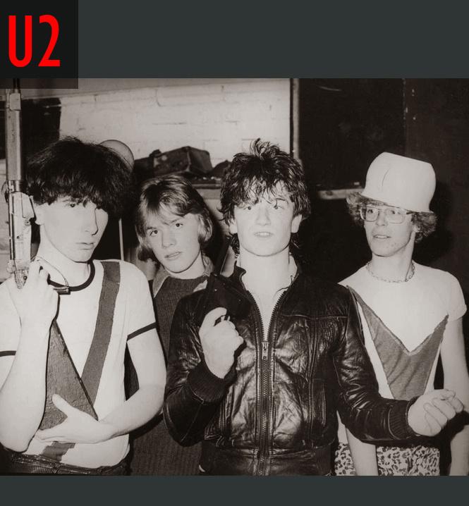 Когда знаменитые группы были молодыми и смешными