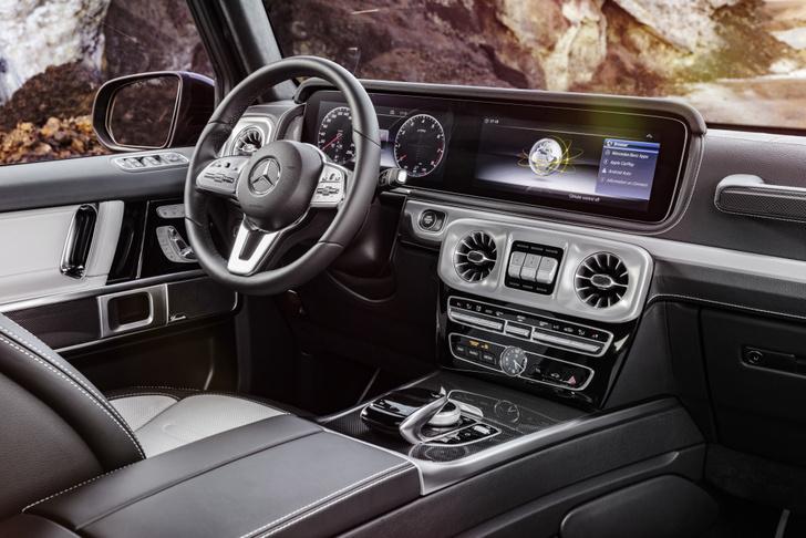 Фото №10 - Новый Mercedes G-Class: подробности из первых рук!