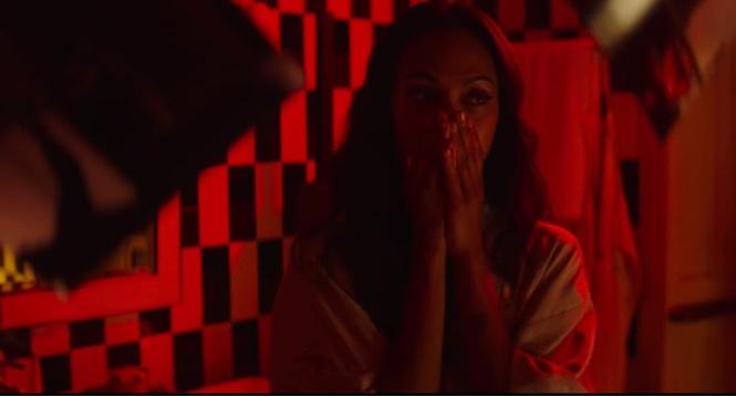 Секс на одну ночь с Зои Салдана, коктейли рекой и тайна — всё, что ты любишь, в короткометражном триллере «Легенда Красной Перчатки»