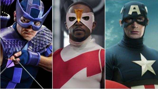 супергерои фильмах выглядели комиксах галерея