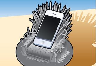 Железный трон для телефона своими руками