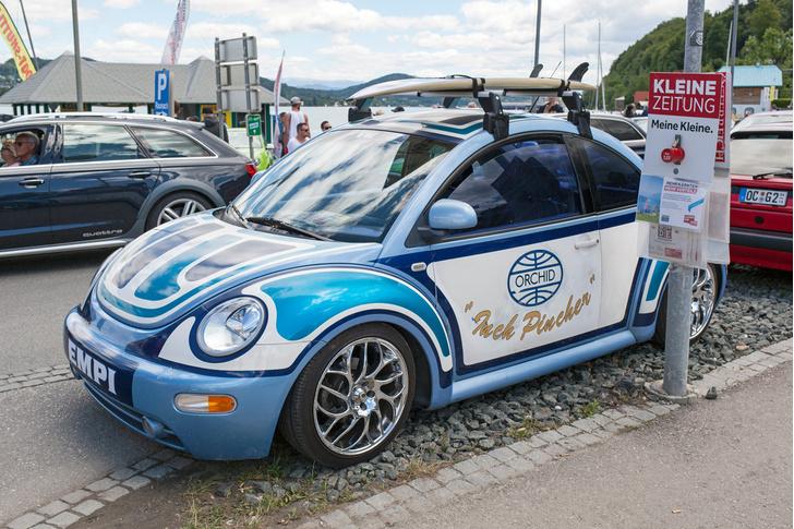 Фото №26 - Самые безумные машины фестиваля GTI Treffen