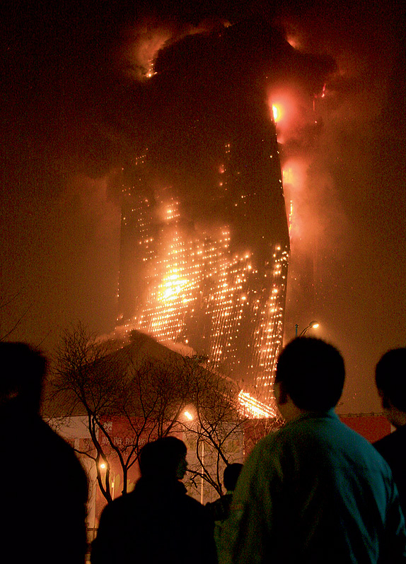 Пожар в отеле «Мандарин Ориентал»