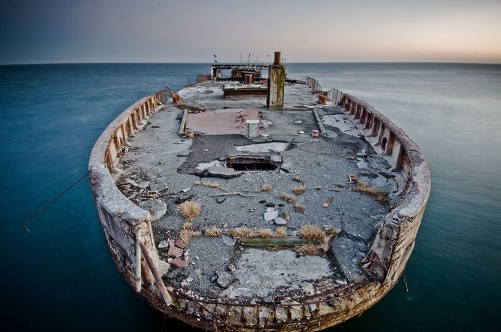 Фото №7 - Железобетонные корабли: ушедшая эпоха в 11 фотографиях