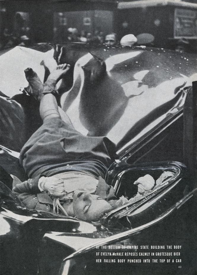5 ошеломляющих фотографий смерти