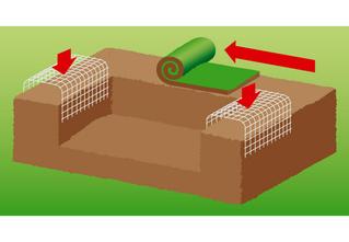 Как сделать на даче травяной диван