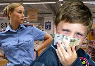 Сотрудница полиции украла у ребенка в магазине 200 рублей. Но тут в дело вмешалась его бдительная мать