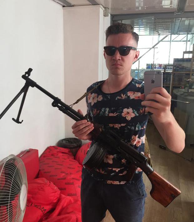 Селфи с оружием