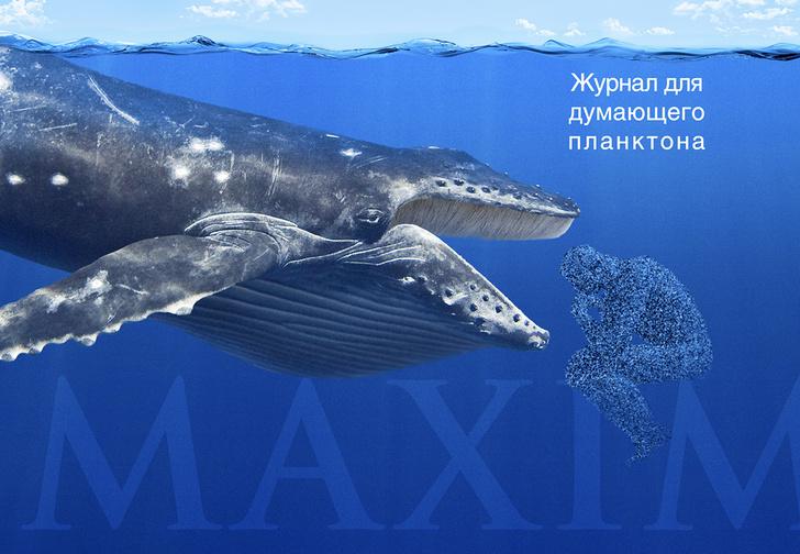Фото №5 - Рекламные плакаты журнала MAXIM, которые нам запретили публиковать
